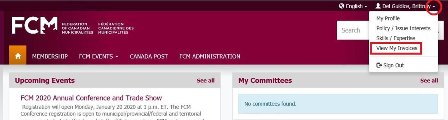 Image of registration portal